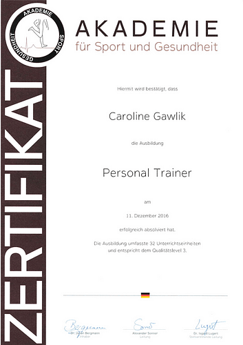 Betten Ranck Caroline Gawlik Personal Trainer