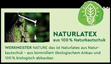 Werkmeister Naturlatex Naturkautschuk